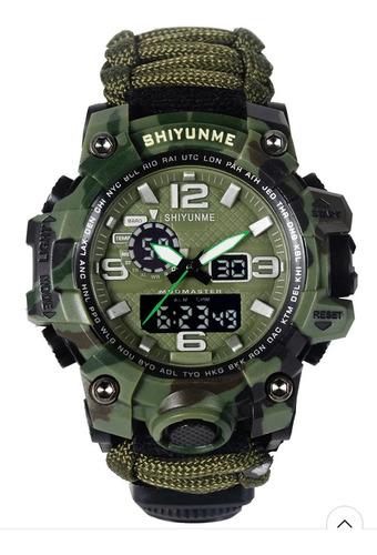 Relógio Masculino Sobrevivência Militar Natação
