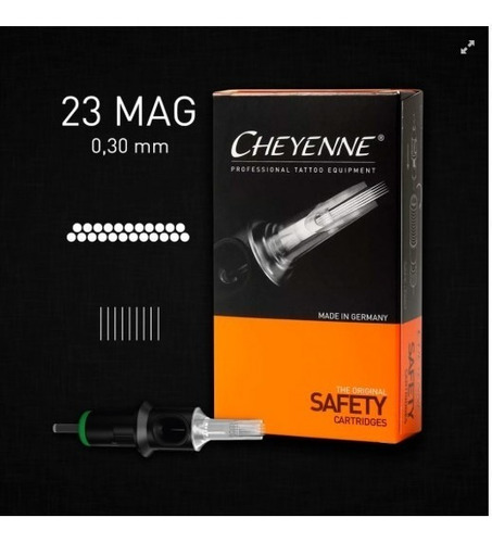 Cartucho Cheyenne  23 Magnum ( Cx. C/ 10 Unidades)