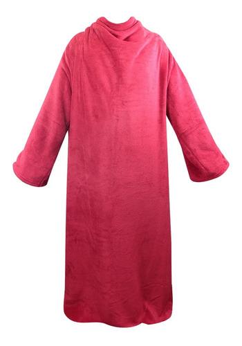 Cobertor C/ Mangas Vermelho 1,60 X 1,30cm Zc 01610