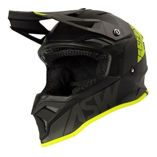 Capacete Asw Fusion 2.0 Seecker Motocross Moto Trilha Enduro