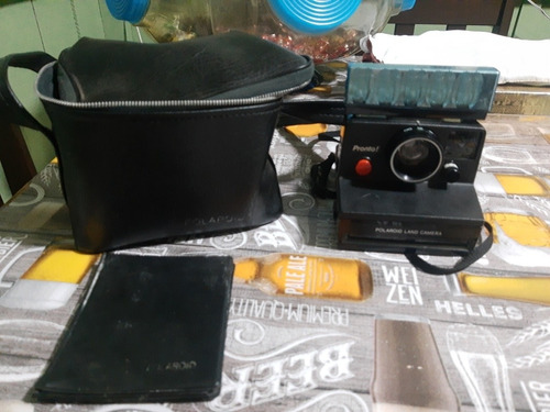 Máquina Fotográfica Polaroid  Com Bolsa E Flax Completa