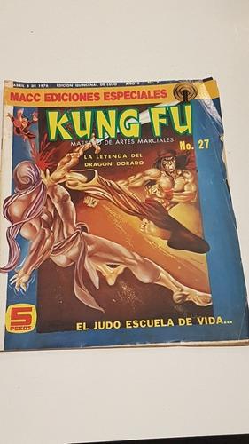 Kung Fu #27 Macc Ediciones Edpeciales Abril 1976