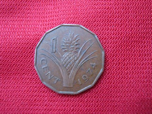 Swaziland 1 Cent 1974