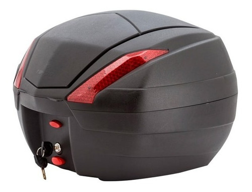 Baúl Maletero Moto Tomcat 34 Litros Aolmoto Envío Gratis