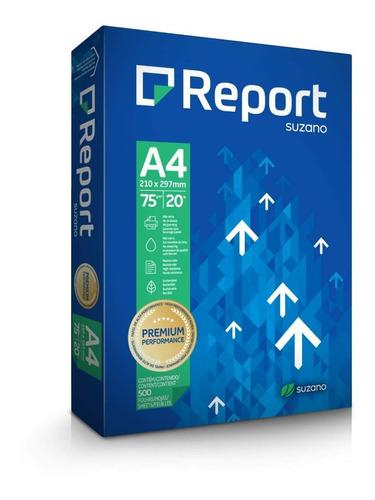 Papel Sulfite A4 Report Premium 500 Folhas 75g Promoção
