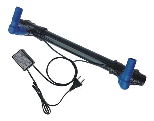 Filtro Uv-c 15w Plus Aquários/lagos Até 4500 Litros