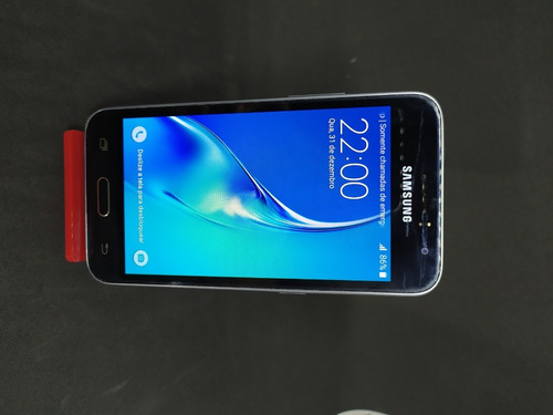 Samsung J1 (2016) Dual Sim 8 Gb Preto 1 Gb Ram Recondicionad