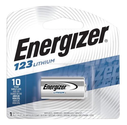 Cr123 Cr123a 123a X 10 Unidades Bateria Energizer Lithium 3v