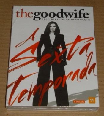 The Goodwife A Sexta Temporada 6 Dvd Box Novo E Lacrado