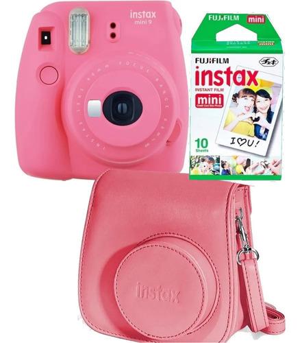 Fuji Instax Mini 9 Rosa 10 Fotos Carterita Oficial