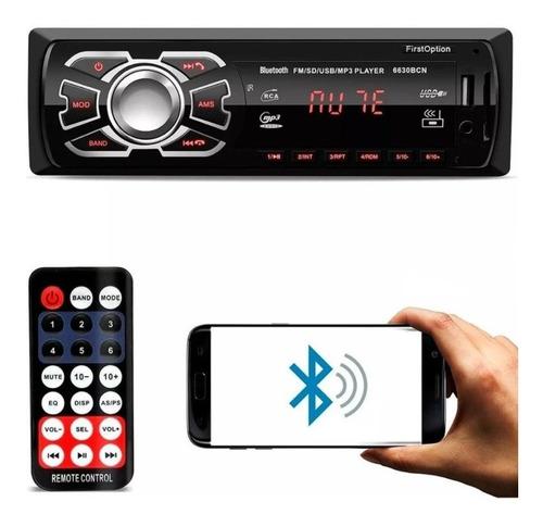 Aparelho Som Automotivo Bluetooth Pendrive Sd Rádio Gol