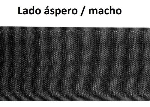 Filtra Auto Colante Velkro Macho 5cm X 2mt Uso Geral