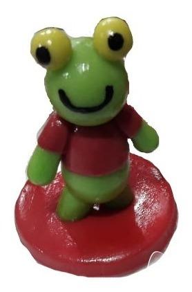Sapo Pepe Souvenirs Porcelana Fria X 20 Unidades
