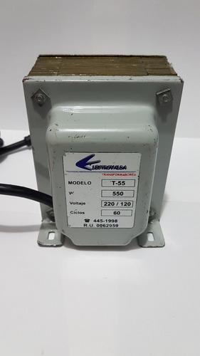 Transformador 550va (real) Entrada 220v Salida 110v