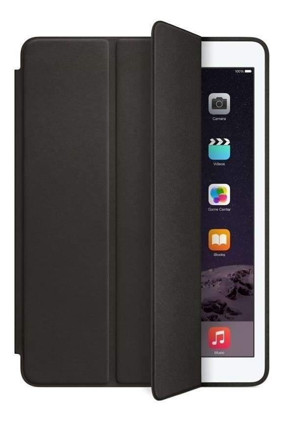 FUNDA SMART CUERO IPAD PRO 11 NEGRO