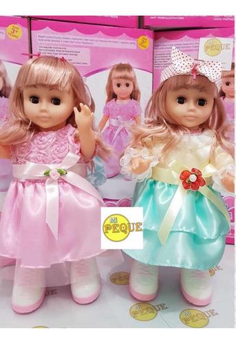 Muñecas, Caminan, Bailan, Música! Hermosas, Exclusivas! 36cm