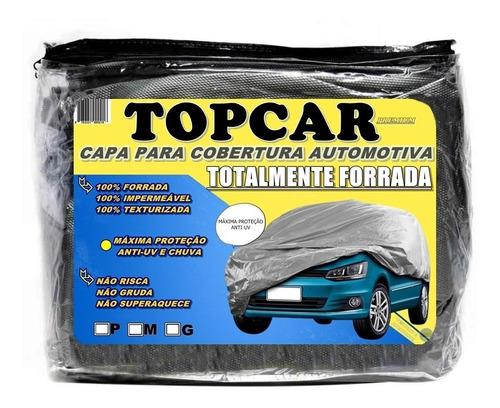 Capa Para Carro Impermeável Totalmente Forrada Proteção Uv