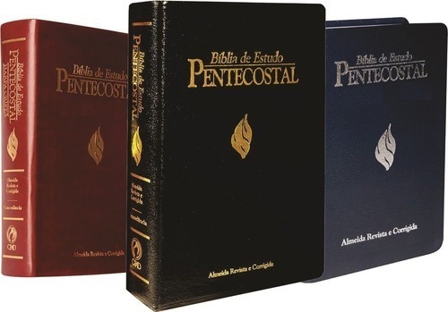 Bíblia De Estudo Pentecostal Media Luxo Cpad