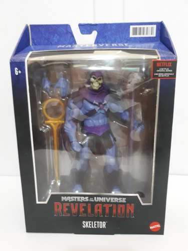 Masters Of The Universe  Reveletion  Esqueleto Mattel