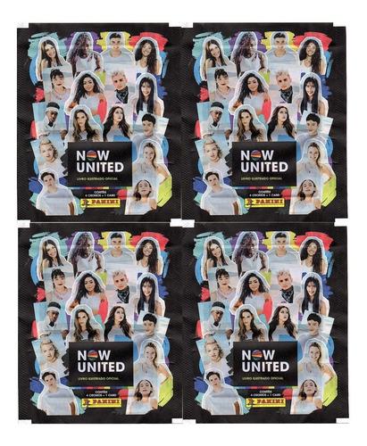 40 Figurinhas E 10 Cards Do Album Now United (10 Envelope)