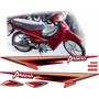 Faixas Completa Shineray Phoenix Gold 50cc (moto Vermelha)