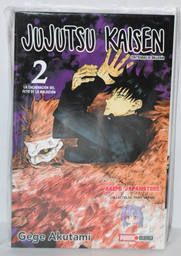 Jujutsu Kaisen # 2 - Panini - Manga