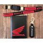 Chaveiro Honda Motos Chaveiro Cordão Porta Documentos