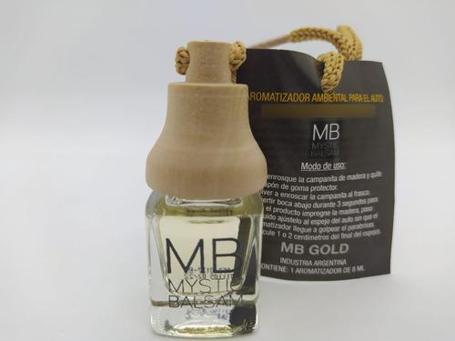 Mystic Balsam 10 Ml / Mb Gold / Perfume Fragancia