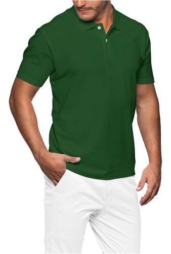 Camisa Polo Masculino Lisas Piquet
