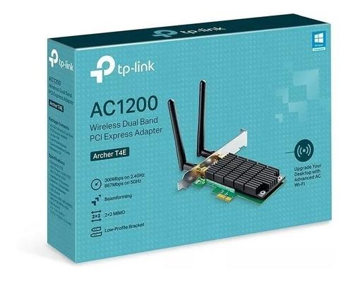 Placa Wifi Red Pci-e Tp-link Archer T4e Ac1200 Dual Band Bgu