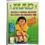 Revista Mad In Brasil Editora Record Lote Com 8 Revistas