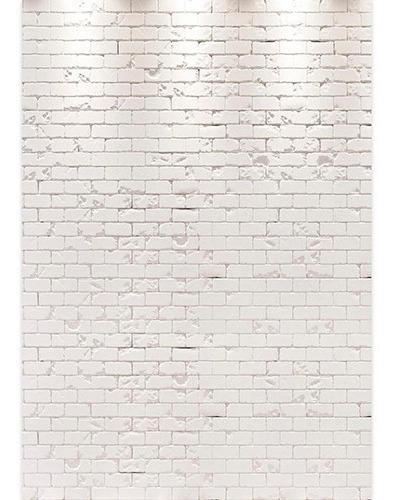 Fundo Fotográfico Tijolos Branco Em Tecido 1, 5x2, 2m Ffb 211
