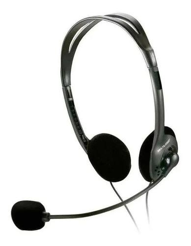 Fone De Ouvido Multilaser Headset Stereo Com Fio 32 Ohms 002