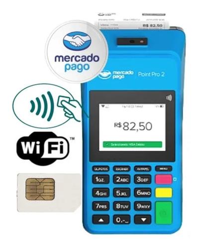 Point Pro Máquina De Cartão Lançamento Envio Grátis