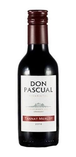 Vino Don Pascual Tannat Merlot 187 Ml