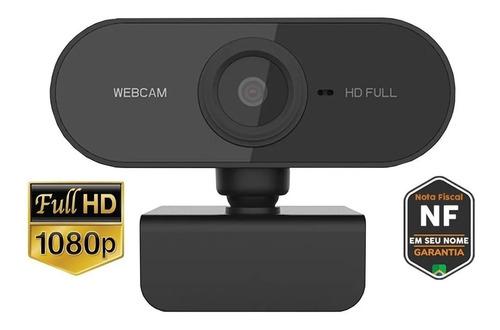 Webcam Full Hd 1080p Usb C/ Microfone Alta Resolução Viribus