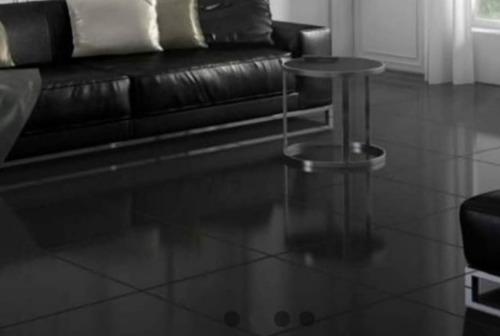 Porcelanato Negro Imperia Brillante 60x60