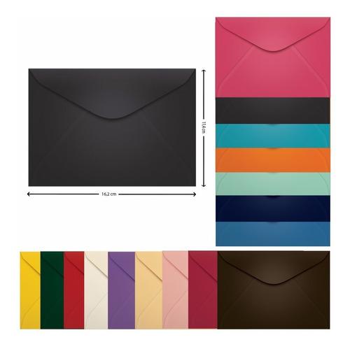 Envelope Carta 114x162 Porto Seguro Azul Escuro Scrity 100 U