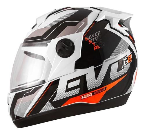 Capacete Moto Fechado Pro Tork Evolution G8 Evo Promoção