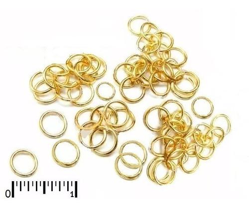 Terminais Argola P/correntes  Ouro 18k-750  01 Peça Unidade