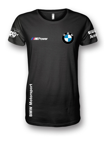 Camiseta Bmw M Power Motogp Sbk F1