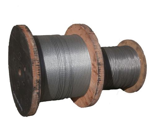 Cable De Acero Galvanizado 1x7 Ø 4,8mm-3mm-6mm Para Riendas