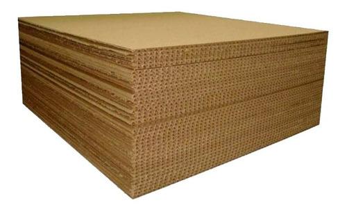 20pz Lamina De Cartón Corrugado Nueva 98x110 Cm 32ect