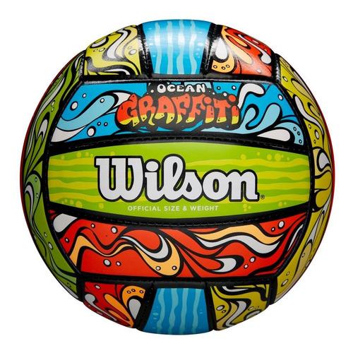Balón De Voleibol Wilson Pelota De Volleyball Graffiti Ocean