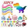 Pop It Fidget Toy S Kit De Brinquedo Sensorial 32pcs