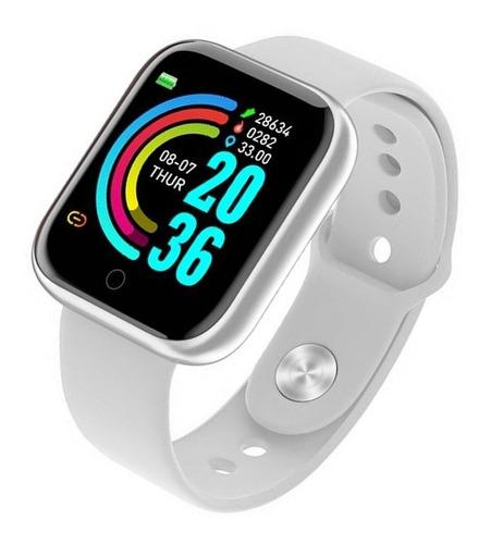 Relogio Smartwatch Inteligente D20 Bluetooth Preto C/nfe