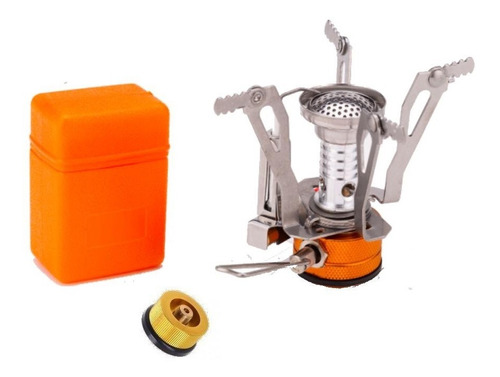 Mini Anafe Portátil - Calentador - Estuche - Con Adaptador -