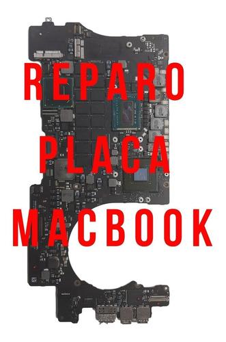 Macbook Pro 15 A1398 2012 A 2015, Reparação De Placa Lógica