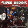 Livro Super herois Historia E Curiosidades Inclui 2 Lapis