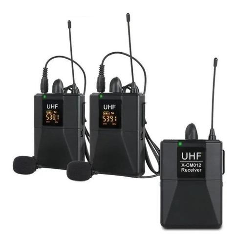 Micrófonos Inalámbricos Xtuga X-cm012 Dinámico Cardioide Negros